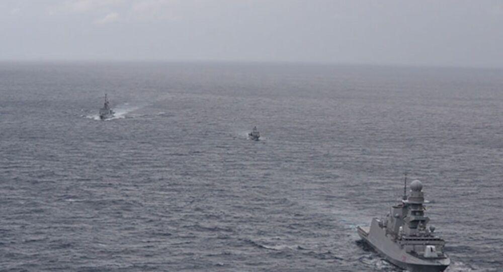 Fransa, İtalya ve Kıbrıs Cumhuriyeti, Doğu Akdeniz'de askeri tatbikat
