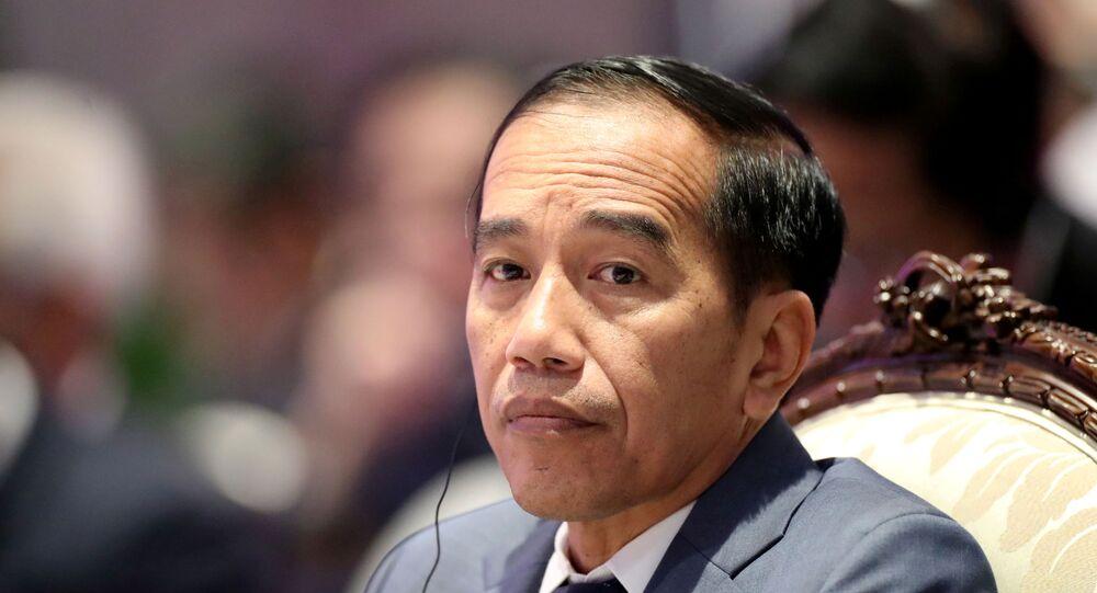 Endonezya Devlet Başkanı Joko Widodo  ASEAN liderler zirvesinde, 3 Kasım 2019