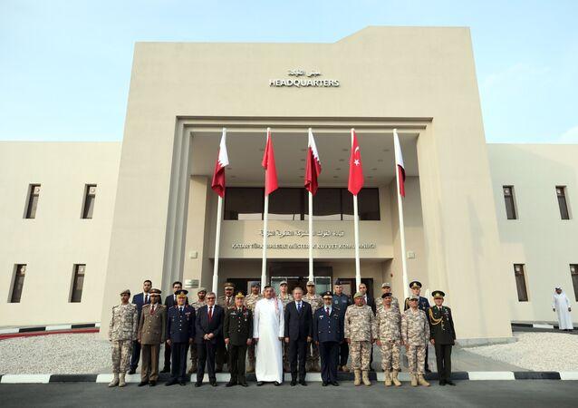 Katar-Türk Birleşik Müşterek Kuvvet Komutanlığı Karargahı açıldı