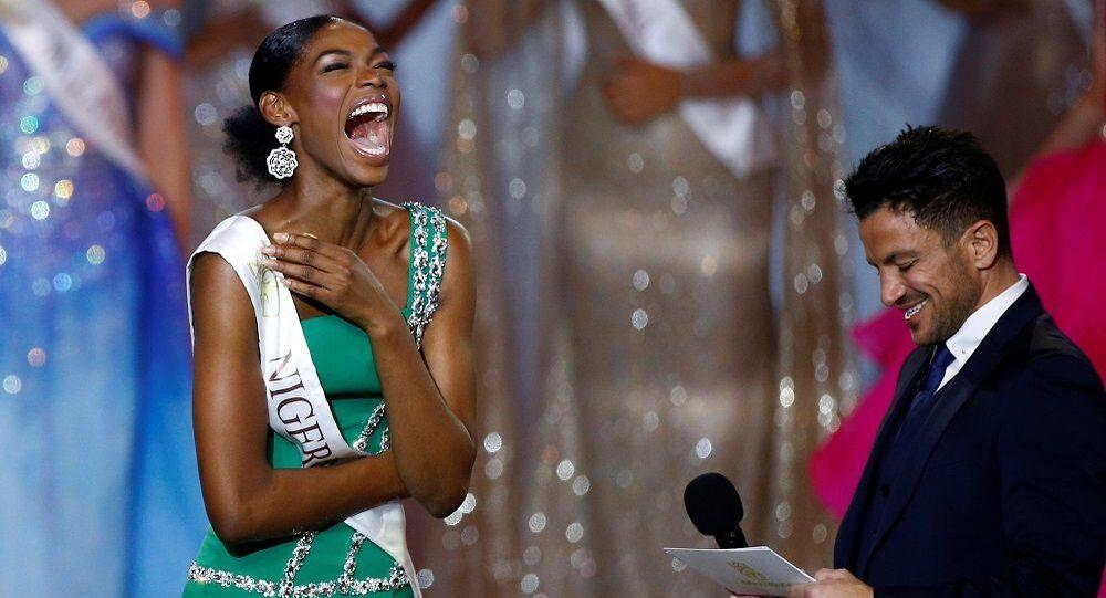 Miss World 2019 yarışmasının finalistlerinden Nyekachi Douglas