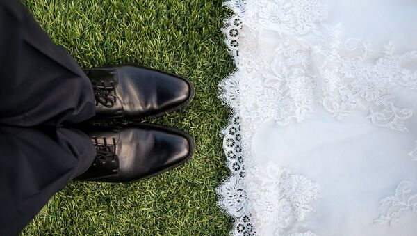 Evlilik – izdivaç – gelin - damat - düğün - Sputnik Türkiye
