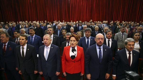 İYİ Parti, 'Suriyeli Sığınmacıların Ülkelerine Dönüş Çalıştayı' - Sputnik Türkiye