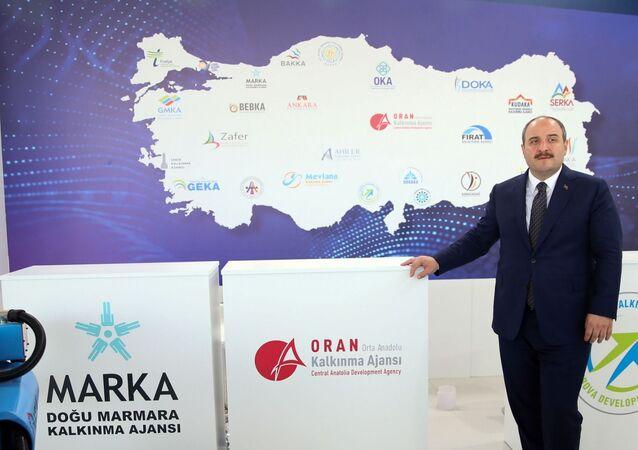 """Sanayi ve Teknoloji Bakanı Mustafa Varank, 2020 yılında kalkınma ajanslarına 191 yeni personel alınacağını belirterek, """"İnsan kaynaklarımızı güçlendirecek bu yeni adımımız, kalkınma ajanslarına taze kan olacak"""" dedi."""