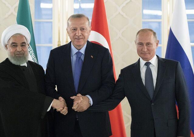 Putin Ruhani Erdoğan