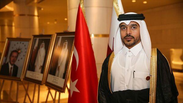 Katar'ın İstanbul Başkonsolosu Mansur bin Abdullah el Suleytin - Sputnik Türkiye