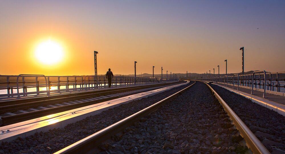 Kırım Köprüsü-demiryolu kısmı