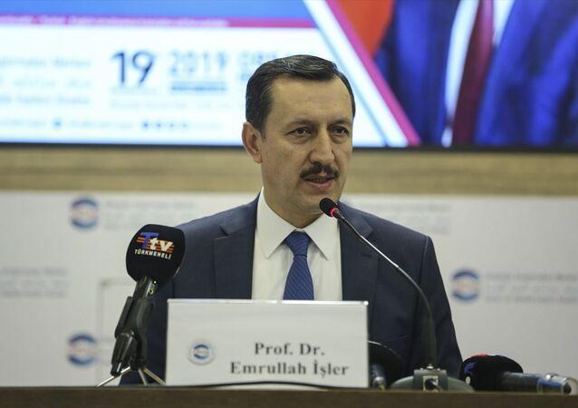 Türkiye'nin Libya Özel Temsilcisi ve AK Parti Ankara Milletvekili Emrullah İşler, Ortadoğu Araştırmaları Merkezi (ORSAM) tarafından düzenlenen Libya Krizi ve Türkiye-Libya İlişkileri başlıklı konferansta konuştu.