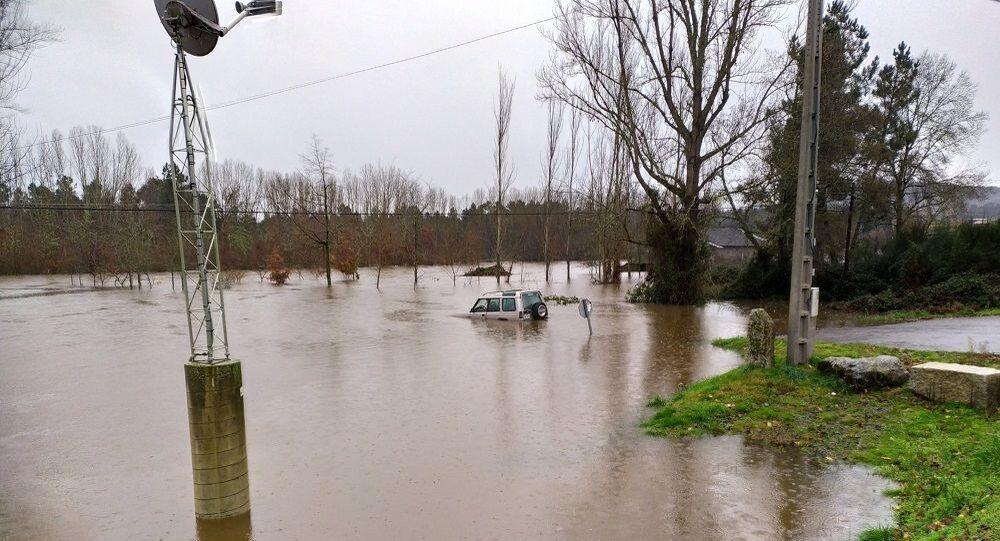 İspanya'da yağış ve sel