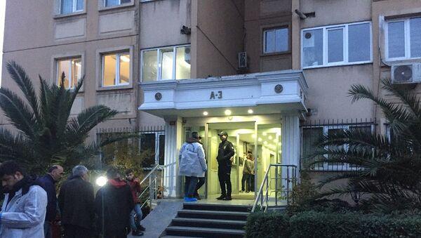 İstanbul'da bir kadın, mali müşaviri ofisinde öldürüp intihar etti - Sputnik Türkiye
