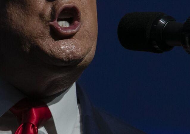 ABD Başkanı Donald Trump (fotoğrafta), Florida Eyaleti West Palm Beach şehrindeki Palm Beach County Kongre merkezinde düzenlenen Turning Point USA 'Student Action' zirvesine katıldı. Trump, burada bir konuşma yaptı.