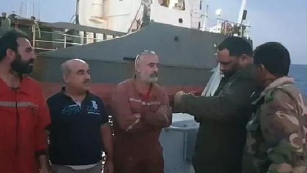 Libya,  Türk mürettebatlı gemiye müdahale - Sputnik Türkiye