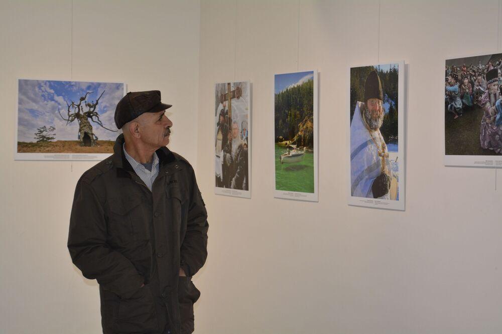 'Sibirya'dan Sevgilerle' sergisi 10 Ocak'a kadar Taksim Sanat'ta