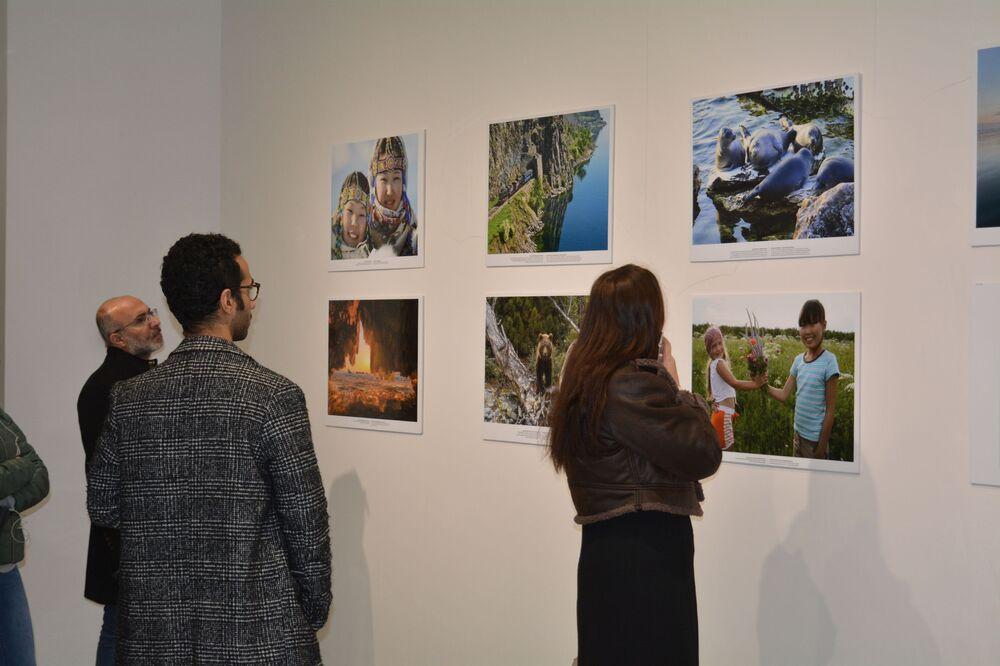 'Sibirya'dan Sevgilerle' fotoğraf sergisinden bir kare