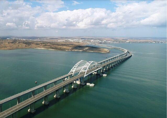 İki dakikada Kırım Köprüsü'nün dört yıllık serüveni
