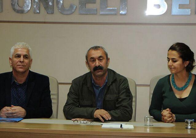 Türkiye Komünist Partili Tunceli Belediye Başkanı Fatih Mehmet Maçoğlu