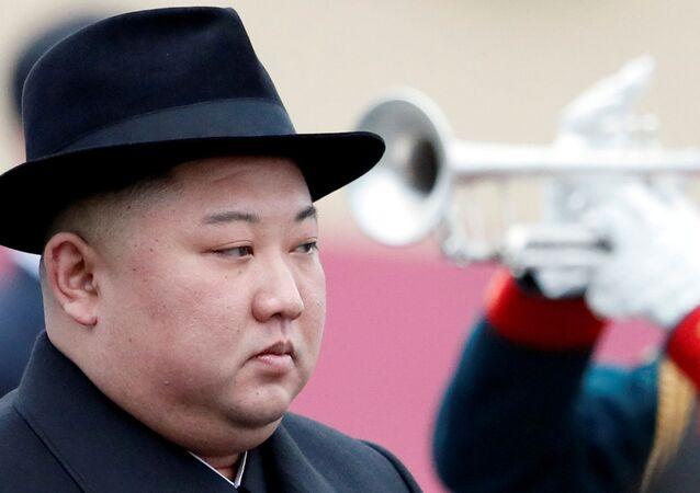 Kuzey Kore lideri Kim Jong-un'a Rusya'nın Vladivostok kentinde karşılama töreni