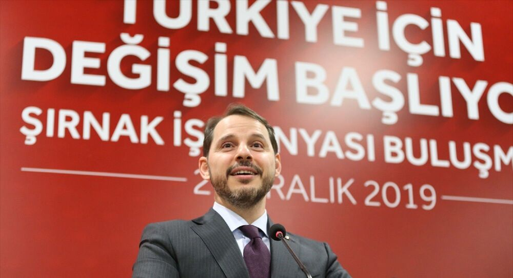 Hazine ve Maliye Bakanı Berat Albayrak, Şırnak'ta İş Dünyası Buluşması programına katılarak konuşma yaptı.