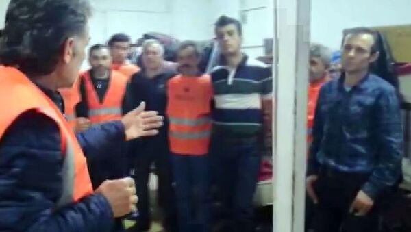 Türk işçi- Gürcistan - Sputnik Türkiye
