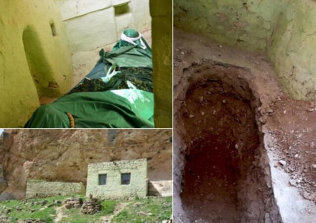 Batman merkeze bağlı Çayüstü Köyü'nde yaklaşık yüz yıldır 'Abuzer Gaffari Türbesi' olarak bilinen ve köylülerin gelip adak adadığı yapıda gerçekleştirilen kazılarda kalıntı bulunmadı.