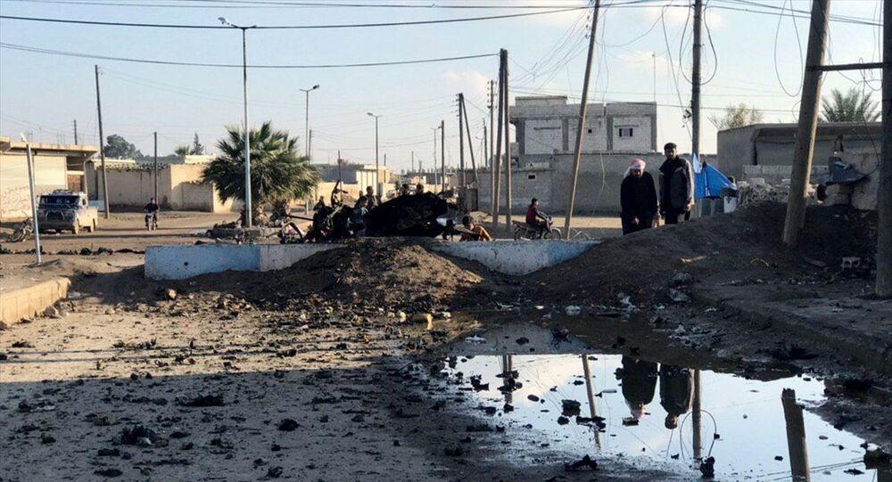 Tel Abyad'da saldırı