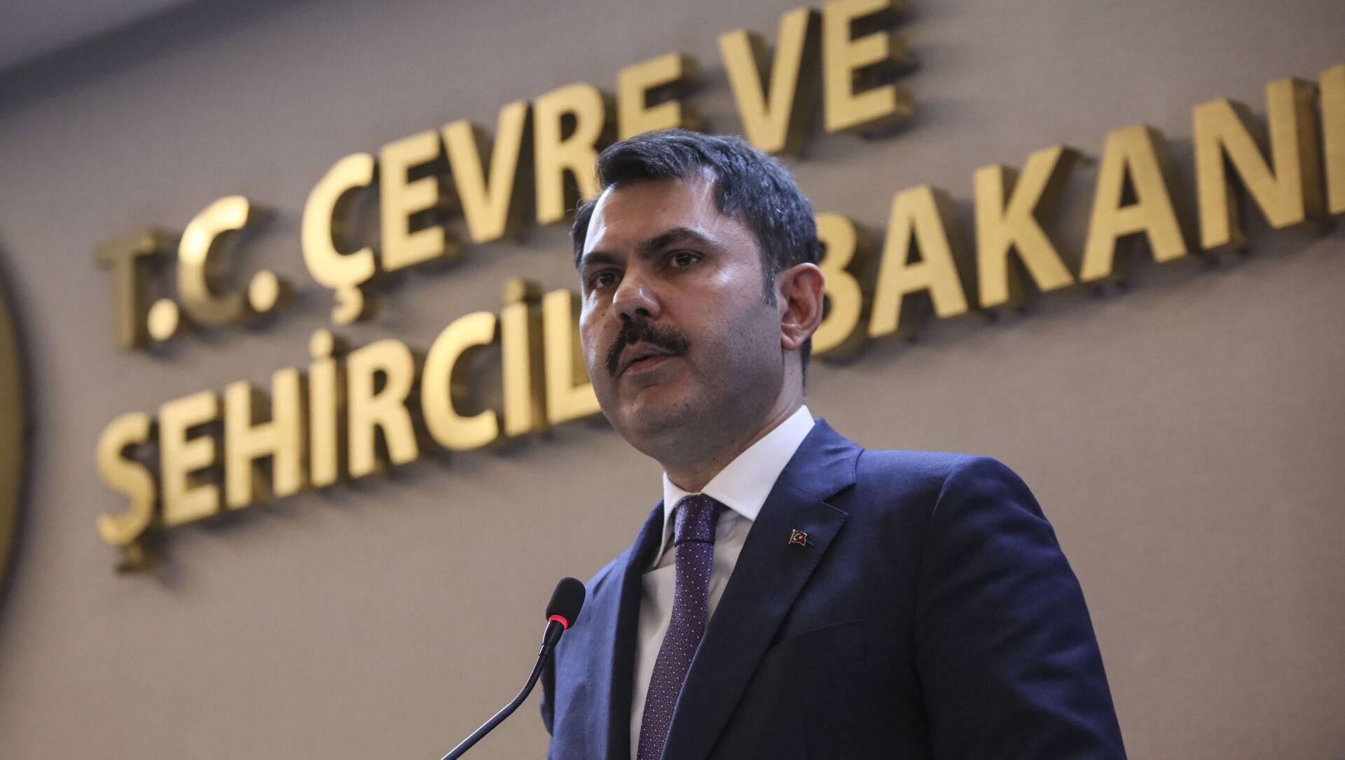 Murat Kurum - Sputnik Türkiye, 1920, 17.02.2021