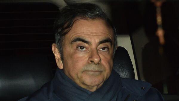 Eski Renault-Nissan CEO'su Carlos Ghosn - Sputnik Türkiye