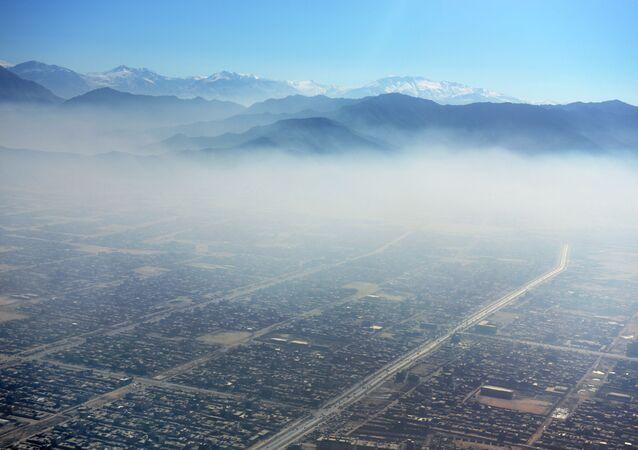 Afganistan'ın başkenti Kabil'de hava kirliliği