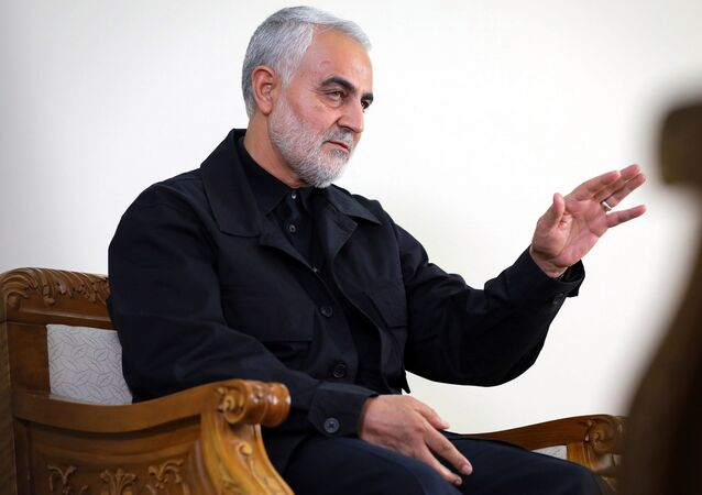 İran Devrim Muhafızları'na bağlı Kudüs Gücü Komuntanı Kasım Süleymani