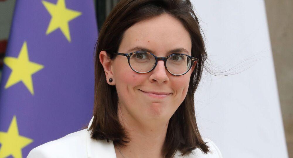 Fransa'nın Avrupa İşlerinden Sorumlu BakanıAmelie de Montchalin