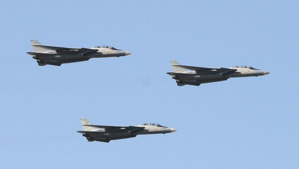 İran F-14 savaş uçakları - Sputnik Türkiye