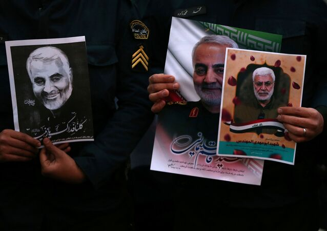 Kasım Süleymani'nin ABD hava saldırısında öldürülmesinin ardından İran'da protesto gösterileri düzenlendi.