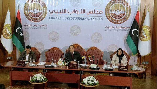Libya Temsilciler Meclisi - Sputnik Türkiye