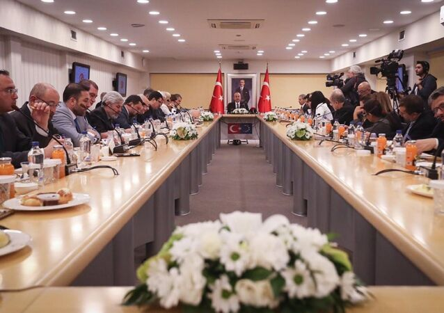 Dışişleri Bakanı Mevlüt Çavuşoğlu 2019 yılı değerlendirme toplantısında