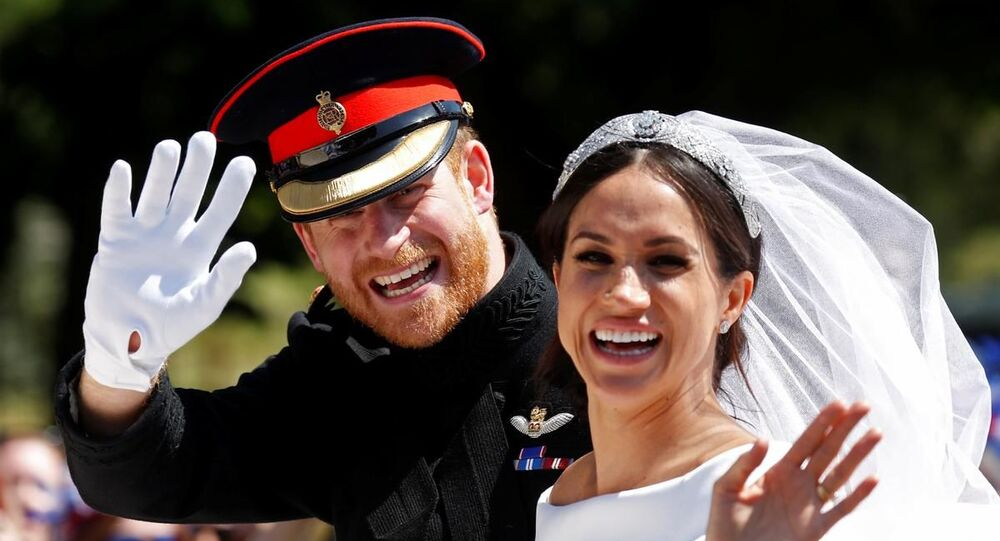 İngiltere Prensi Harry ve eşi Meghan Markle