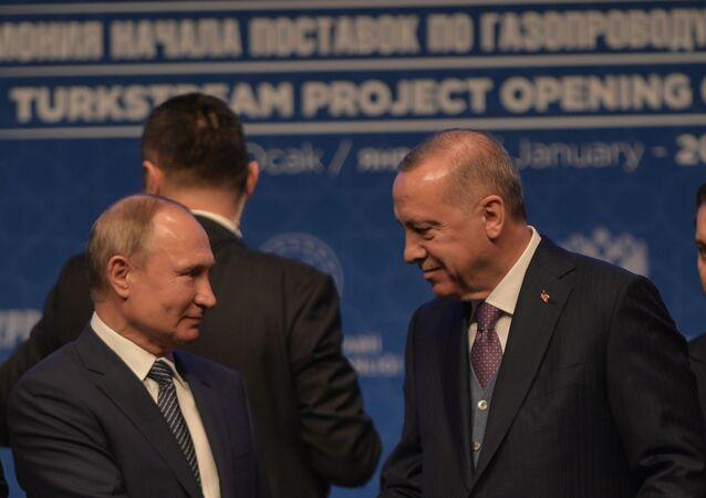 Vladimir Putin- Recep Tayyip Erdoğan