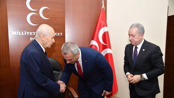 Turgut Babaoğlu, Devlet Bahçeli - Sputnik Türkiye