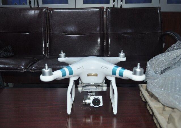 Adana'da bir kişi, terör örgütü El Kaide'ye drone gönderirken polis tarafından kargo şubesinde yakalandı.