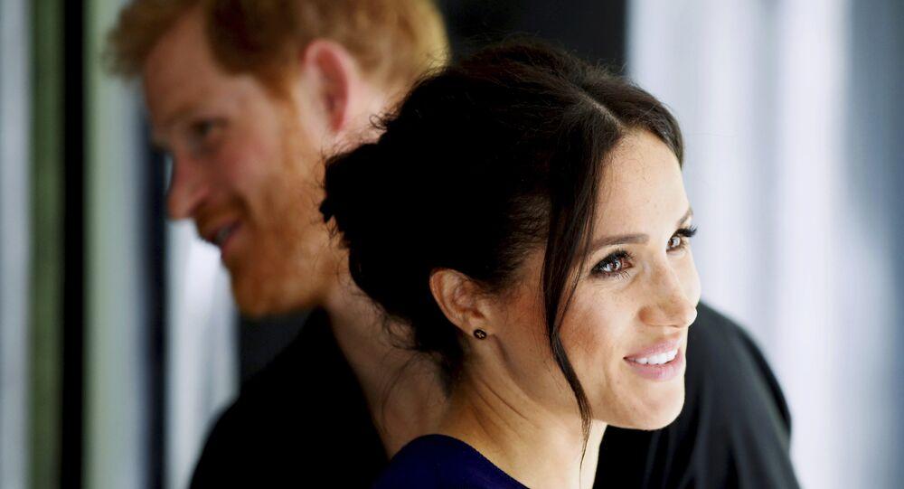 Prens Harry ile eşi Meghan Markle