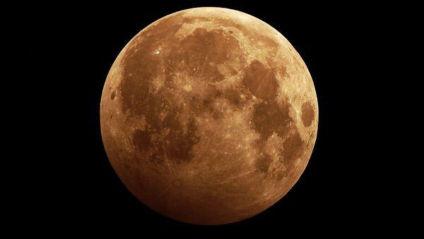 2020 yılının ilk dolunayı ve Ay tutulması - Sputnik Türkiye