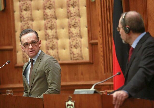 Almanya Dışişleri Bakanı Heiko Maas ve Ürdün Dışişleri Bakanı Eymen es-Safedi