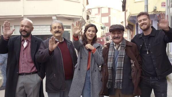 50m2 oyuncuları - Sputnik Türkiye