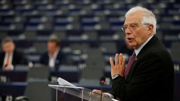 Avrupa Birliği Dış İlişkiler ve Güvenlik Politikaları Yüksek Temsilcisi Josep Borrell - Sputnik Türkiye
