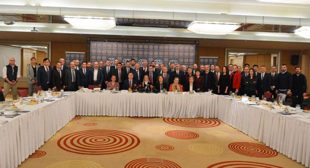 Sputnik'in de aralarında bulunduğu basın kuruluşlarının temsilcileriyle bir araya gelen Kamu Başdenetçisi Şeref Malkoç, 2020 hedeflerini anlattı.
