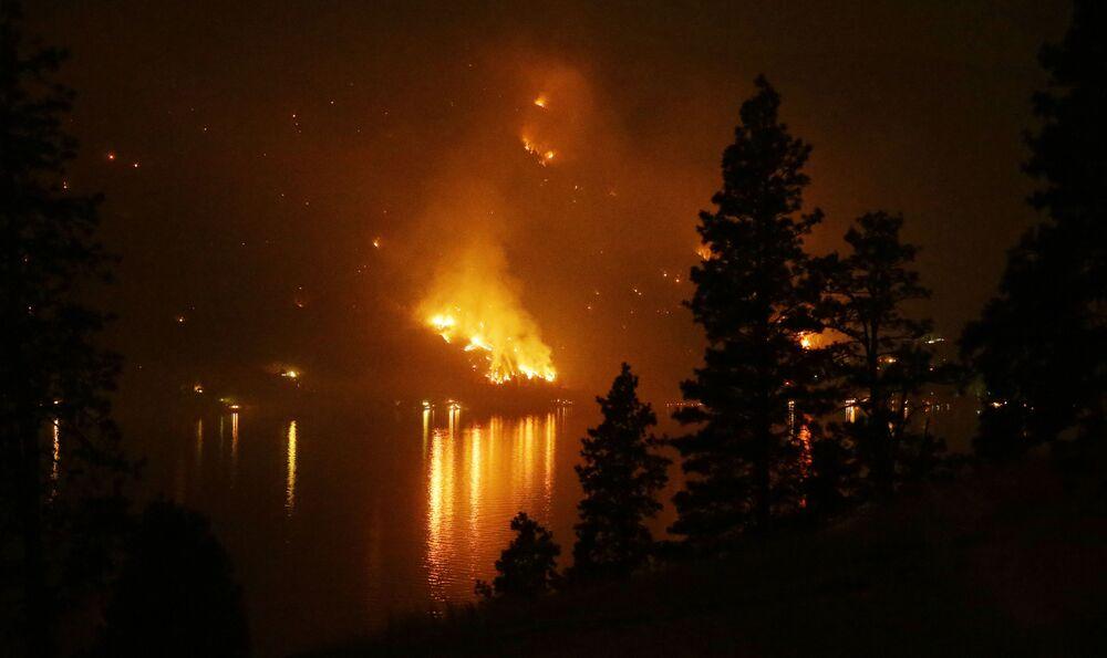 ABD'nin Washington eyaletini saran orman yangını, 2015 yılı
