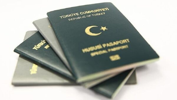Yeşil pasaport - Sputnik Türkiye