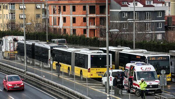 Metrobüs, kaza - Sputnik Türkiye