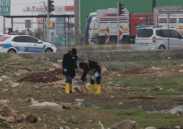Şanlıurfa'da çantadan 4 kilogram patlayıcı çıktı