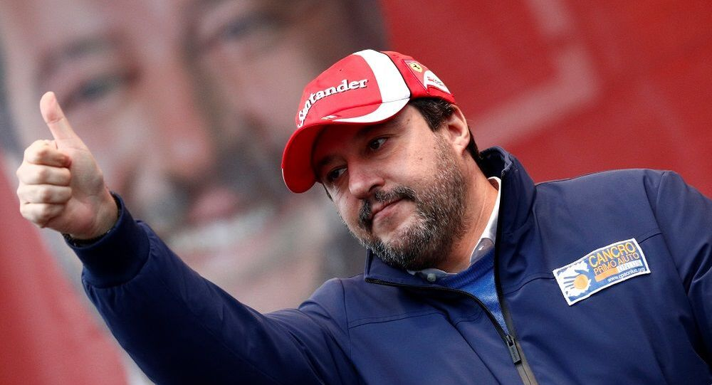 İtalya'nın sağcı lider Salvini