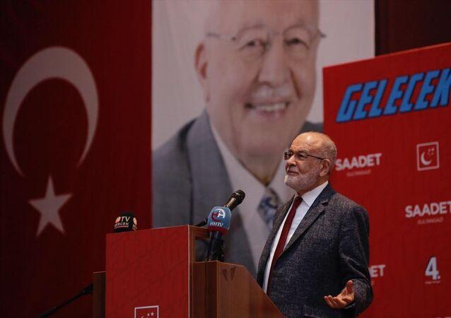 Saadet Partisi Genel Başkanı Temel Karamollaoğlu, partisinin İBB Ahmet Yesevi Kültür Merkezi'nde düzenlenen Sultangazi 4. Olağan Kongresi'ne katılarak partililere hitap etti.