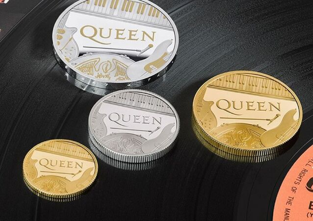 Queen'e özel madeni hatıra parası